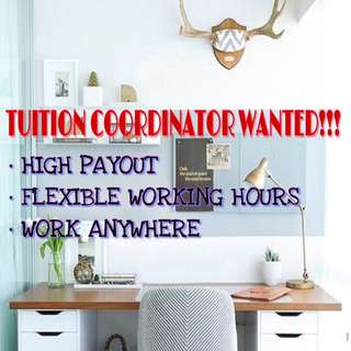 PART TIME / FULL TIME TUITION COORDINATOR WANTED
