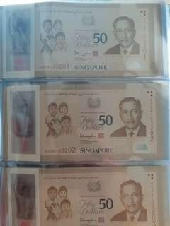 SG50 running number 10pcs