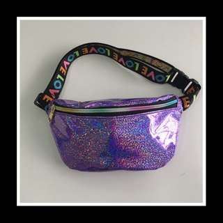 Fanny pack LXFZQ laser purse