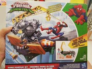 Spiderman sinister set