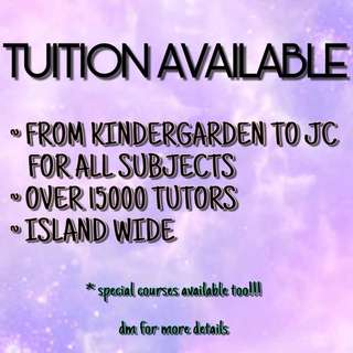 TUITION SERVICES