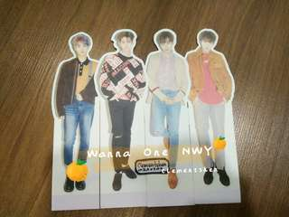Wanna One Nothing Without You Standee ( No Dent )