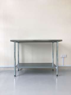Stainless steel catering table equipment
