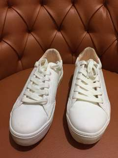 Bershka White Shoes
