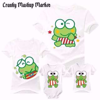 Keroppi Family/Couple Tee With Romper (CMM-FCTR)
