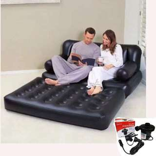 Bestway Inflatable Sofa Bed with Pump