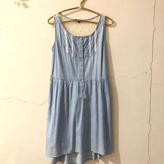 BLUE AND WHITE TRANSP BACK