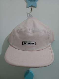PINK SATURDAY KOREAN CAP