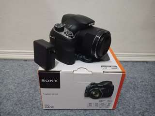 sony H400 camera super zoom 63x optical zoom, mulus kyk baru