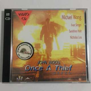Once A Thief • Movie VCD