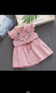 Summer embroidery dress (Pre-order)