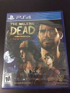 PS4 The Walking Dead A New Frontier Telltale Series (New)
