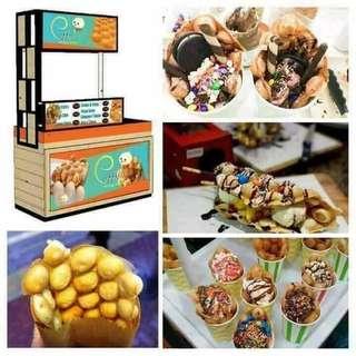Puffy's HK Egg Waffle Foodcart Franchise