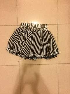 🚚 條紋短裙 mini skirt