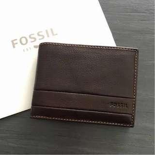 Fossil Lufkin Men Wallet AUTHENTIC 💯