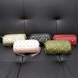 NEW! charles n keith clutch authentic