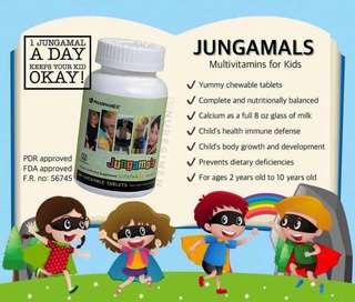 Jungamals Vitamins (2-12 years old)