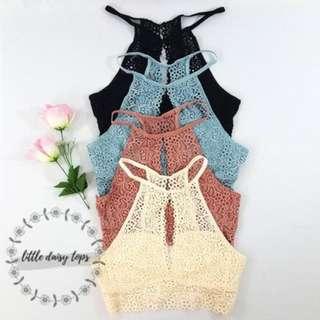[PO] Crochet Coachella Bralette