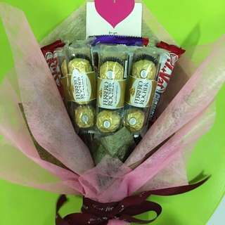 Chocolates bouquet 💕💋