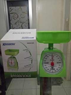 Kitchen scale  2 kg/ timbangan Krisbow
