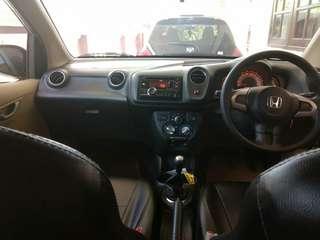 Honda brio satya E 2014 like new