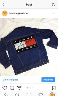 TOMMY HILFIGER INSPIRED DENIM JACKET