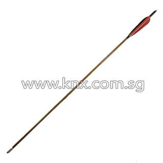 In Stock – OTS 0034 – Black and Red Traditional Handmade Arrow