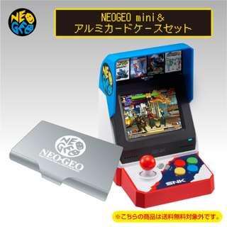 NEOGEO mini & Aluminum Card Case Set (Pre-Order)