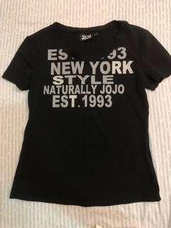 🚚 NATURALLY JOJO-黑T-M號