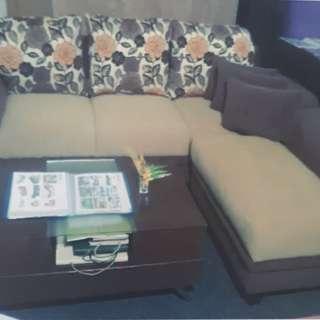 Sofa L Santai DiJual Kredit