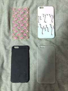 iPhone 6+ cases (bundle of 4)