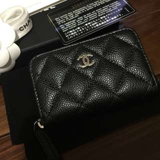 超靚卡號 Chanel Wallet Card holder coins purses