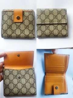 Gucci銀包(專門店買入真品)