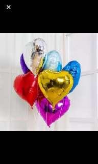 18 inch heart balloon