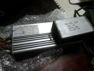 72V 2000W Ebike controller with voltage converter