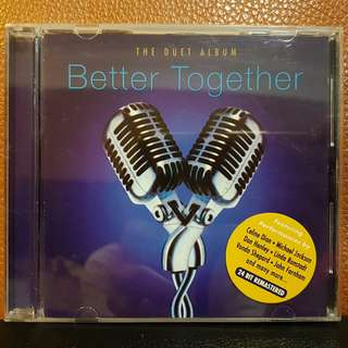 CD》Better Together - The Duet Album