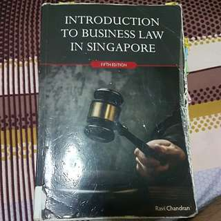Introduction To Business Law In Singapore 5th edition bsp1702