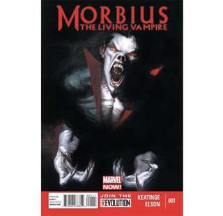 MORBIUS THE LIVING VAMPIRE #1 (2013) Marvel Now!
