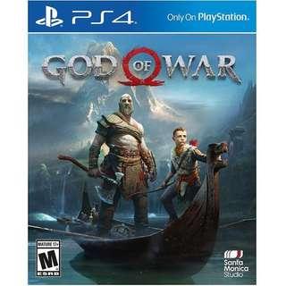 PS4 GOW 2018