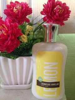 Bath & Body Works Signature Vanilla Lemon