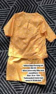 Baju Kurung Yellow