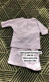 Baju Kurung Purple
