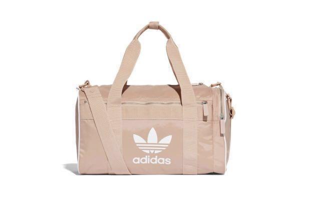 538b5bd6204e Adidas Originals Hypebae Dusty Pink Duffel Bag