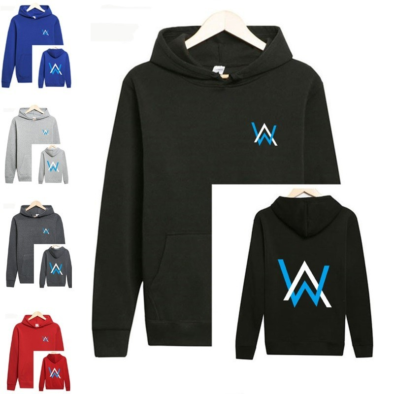 Alan Walker DJ Hoodie Sweater Boy Clothing Faded Jacket, Men's Fashion, Clothes, Tops on Carousell