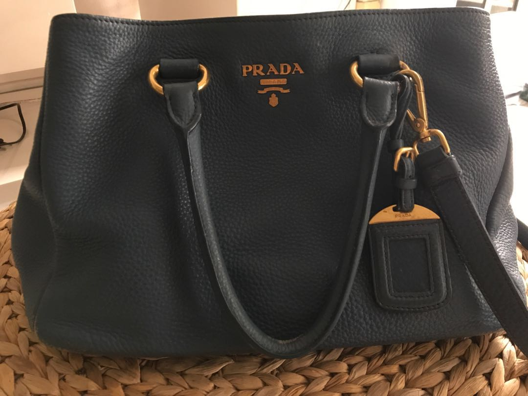 a9db13e0369e Authentic Prada bag