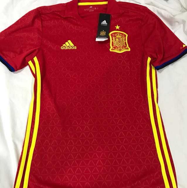 8535f876e22 Brand New Authentic Spain Home Jersey Euro 2016