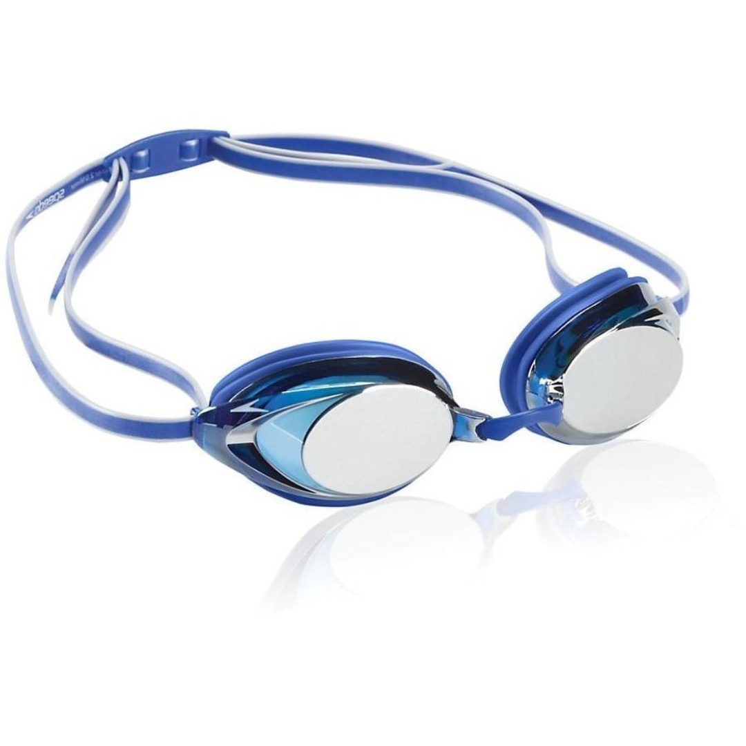 56757bcf2888 BRAND NEW! Speedo Vanquisher 2.0 Mirrored Swim Goggle - Blue