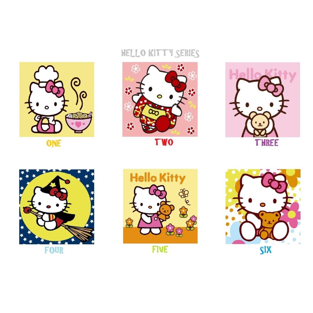 6eecf83d6 Children DIY] DIY Oil Painting By Numbers - Hello Kitty Series ...