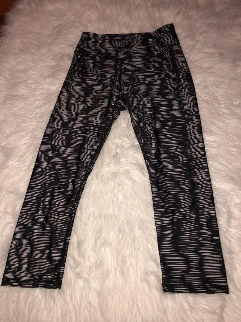 Cropped Workout Leggings // Size S