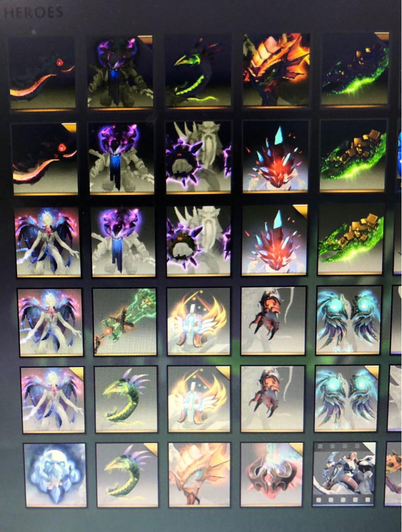 Dota 2 2018 IMMORTAL Items, Toys & Games, Video Gaming, In